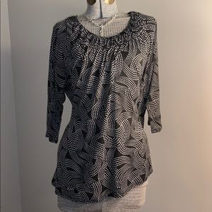 😍Tunic length blouse